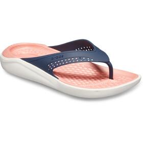 Crocs LiteRide sandaalit, navy/melon